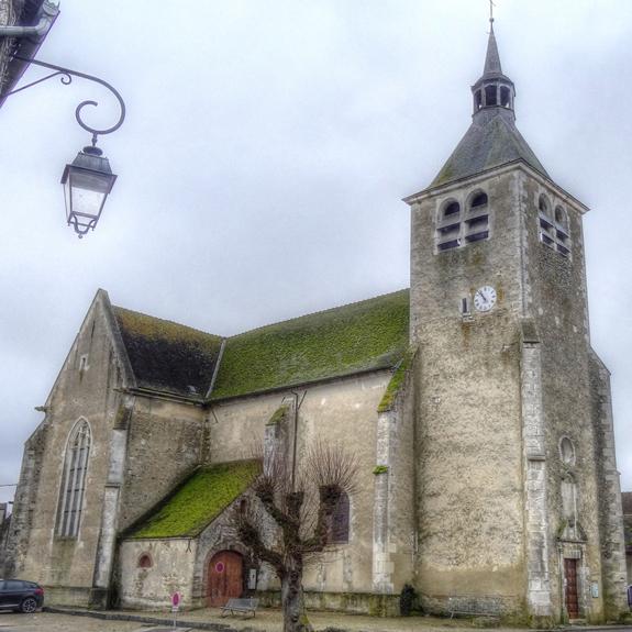Carisey – Église Notre Dame Saint-Vincent