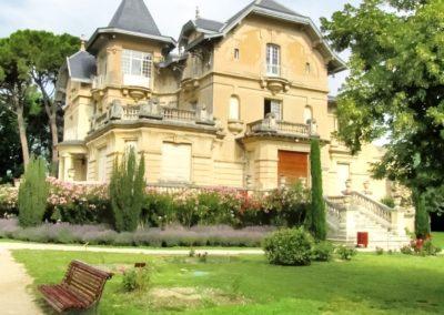 carpentras chateau de la roseraie
