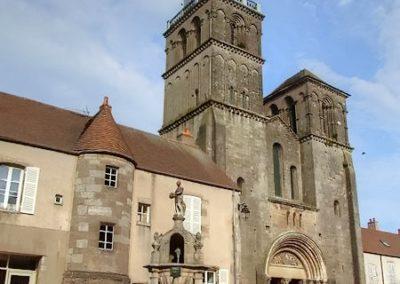 saulieu église saint andoche