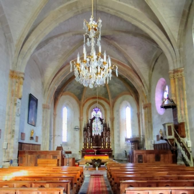 Villedieu – Église