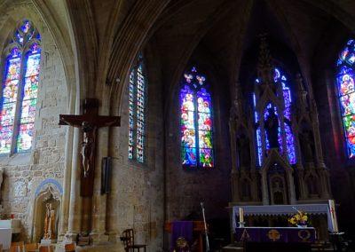 Pargny-sur-Saulx - Eglise de l'Assomption - Chœur - Vue d'ensemble