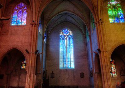 Romilly-sur-Seine - Eglise St-Martin - Création de vitraux par Joël Mône réalisé par l'atelier Vitrail Saint-Georges - Transept Nord