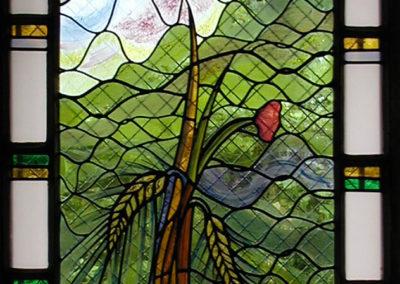Barbizon, cité des peintres - Vitraux création d'Yvette Fringante